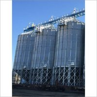 Hopper Bottom Grain Silos