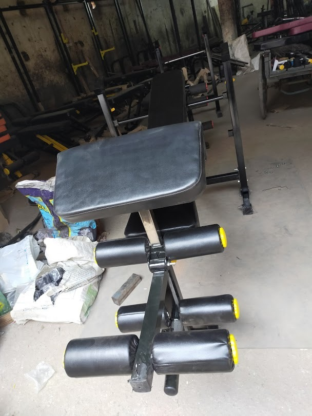 Olympic Multi Bench With Biceps & Leg Curl/extn.