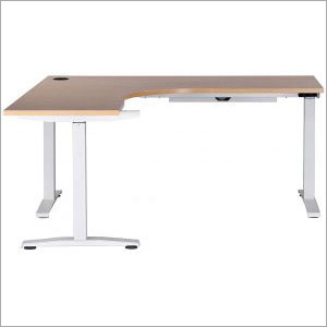 Electric Height Adjustable 90 Degree Desk