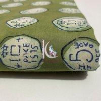 New Coin Shaped Sanganeri Print Fabrics