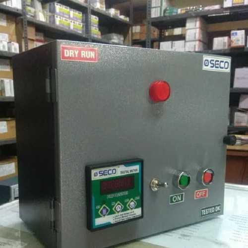 Single phase auto Dry Run Control Panel Board