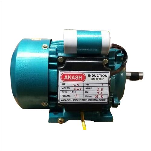0.5HP Single Phase Electric Motor