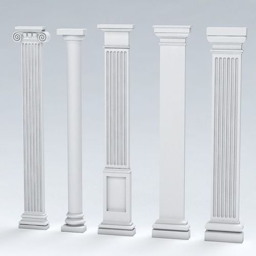 Sleek Grc Columns