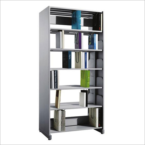 1 Bay Library Shelving Starter Unit With Side Panels
