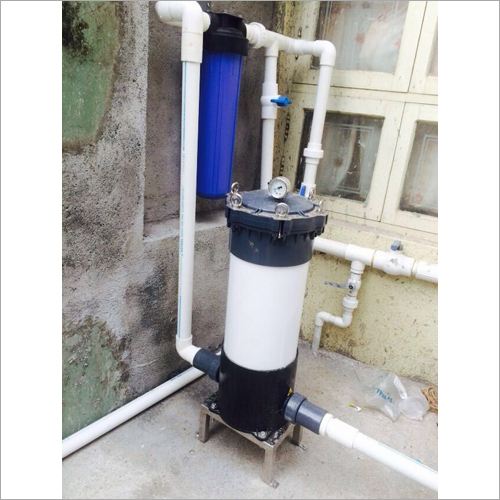 Industrial Rain Water Filtration Plant