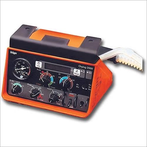 Drager Oxylog 2000 Refurbished Portable Ventilator