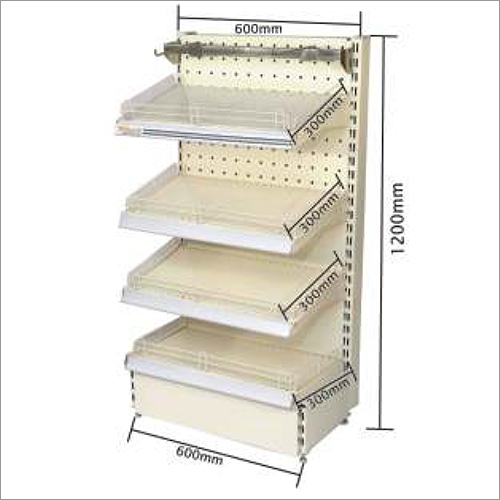 Steel Departmental Storage Rack