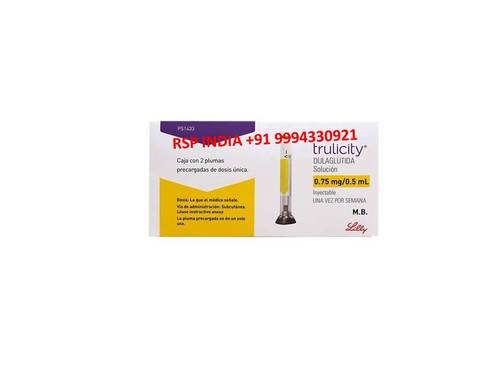 TRULICITY 0.75MG-0.5ML SOLUTION