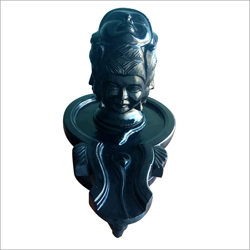 Three Face Shivling Statue