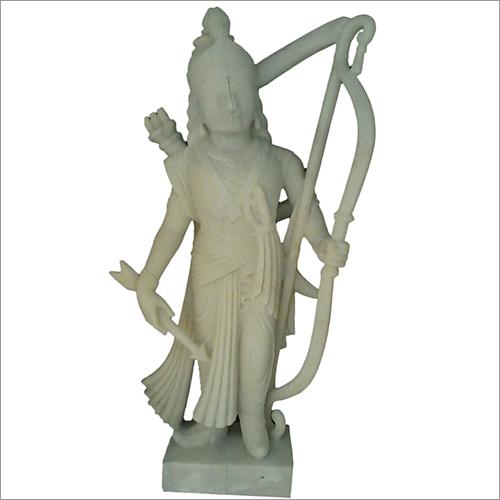 Marble Arjun Statue