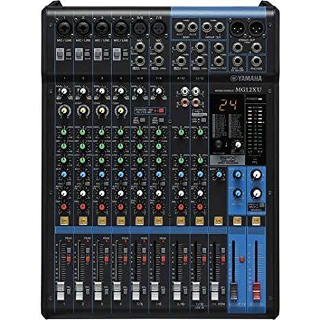 Yamaha Mixer-MG12XU VCD Player