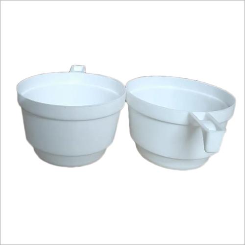 White Plastic Tea Cups