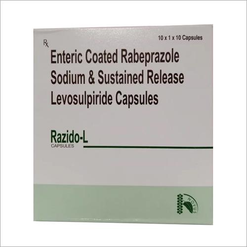 Enteric Coated Rabeprazole Sodium And Sustained Release Levosulpiride Capsules