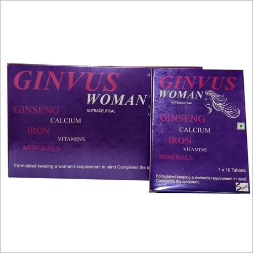 Ginseng Calcium Iron Vitamins Minerals Tablets