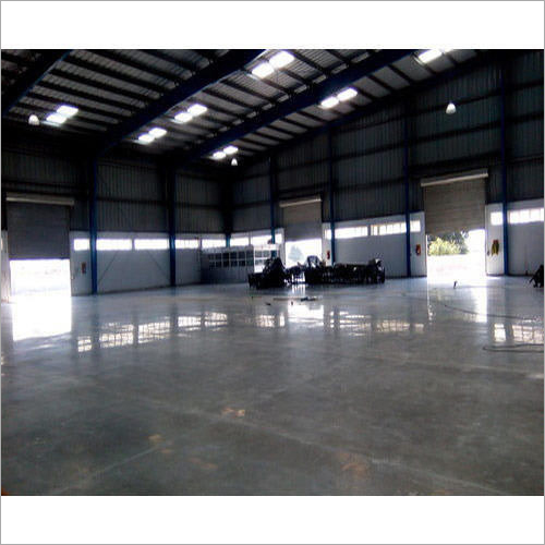 Polished Concrete Flooring Services For Corporate Building