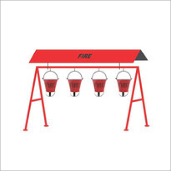 Fire Bucket Stand