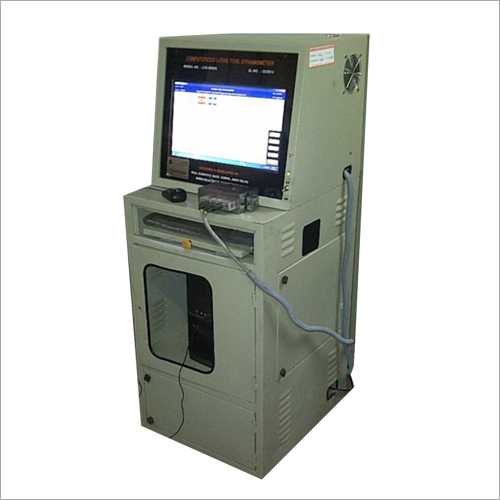 Computerized Piezo Electric Vertical Surface Grinding Tool Dynamometer