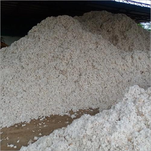 White Pure Raw Cotton