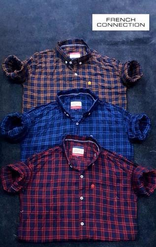 branded check shirts