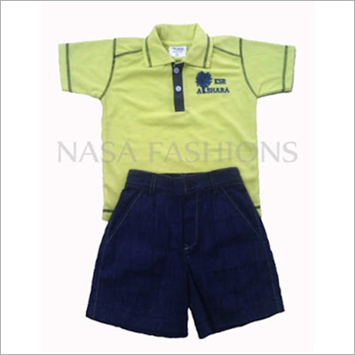 Kids T Shirt With Short