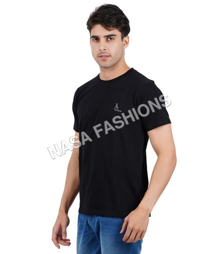 Mens bio washed and silicon washed (Round Neck T Shirt)
