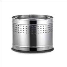 Stainless Steel Planter Dustbin