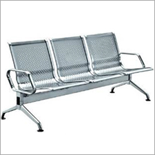 Three Seater Stainless Steel Bench