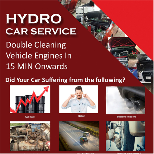 Hydro Oxy Bus Carbon Cleaning Machine