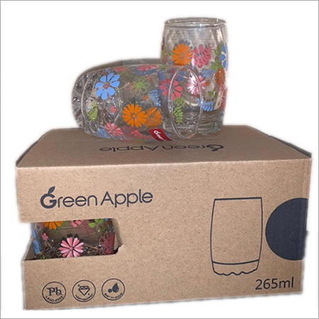 Water Printed Glass
