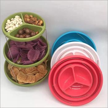 3 Tier Plastic Twisting Bowls