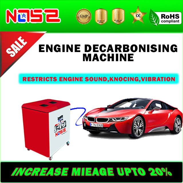 HHO Car Carbon Cleaner Machine