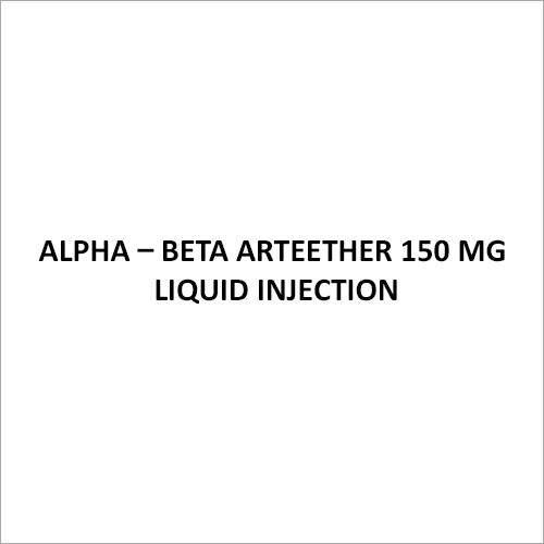 Alpha - Beta Arteether 150 Mg Liquid Injection