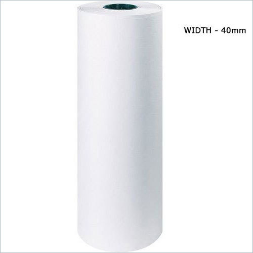 40mm White PE Poly Coated Paper