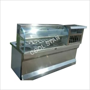 Steel Chat Display Counter