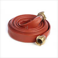 Rubber Fire Hose With Coupling