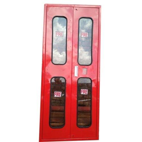 Mild Steel Double Door Fire Hose Cabinet