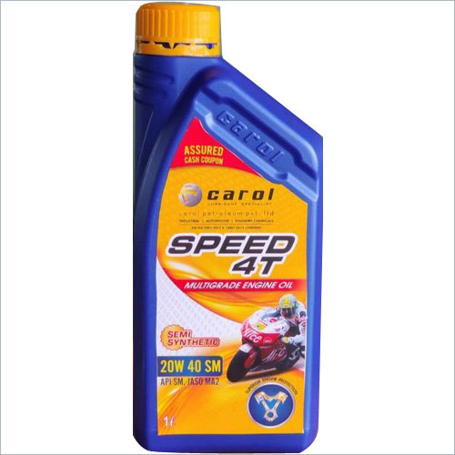 4T 10 W 30 SL Carol Speed Engine Oil