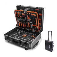 161 pc Aluminium Case Tool  Set
