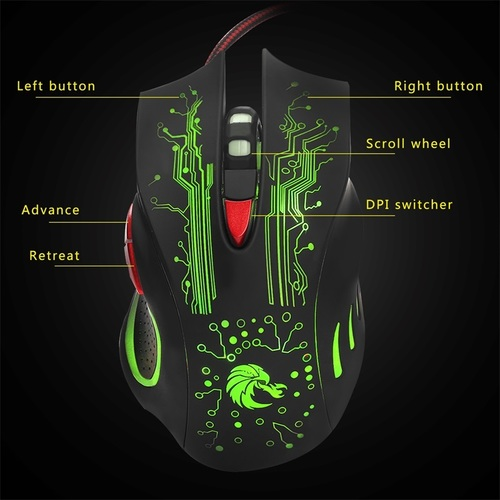 H700 Branded Gaming Mouse