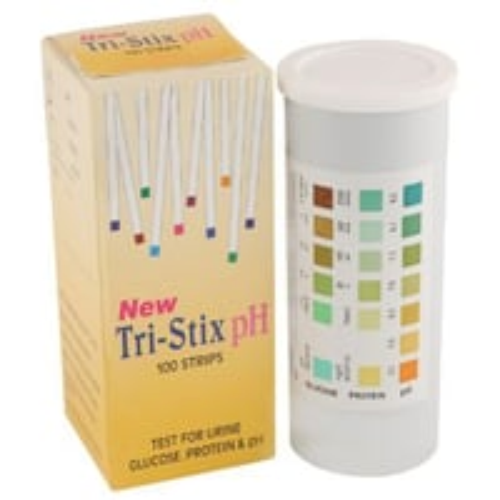 Tri-stix Ph- Urine Test Strip