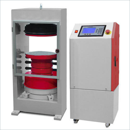 Compression Testing Equipment Electrically cum Manually