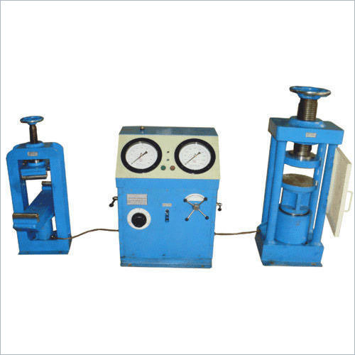 Electrically Cum Manually Compression Testing Equipment