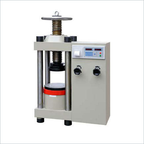 Compression Testing Equipment ( Manually Hand Operated )
