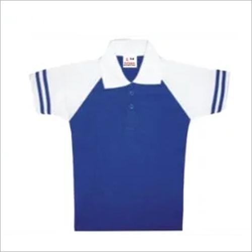 School Collar Neck T Shirt