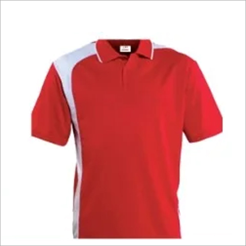 Mens Promotional Red T Shirt
