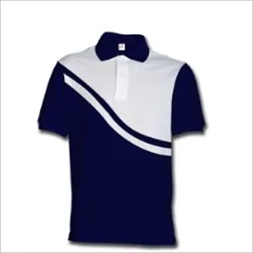Collar Neck College T Shirt