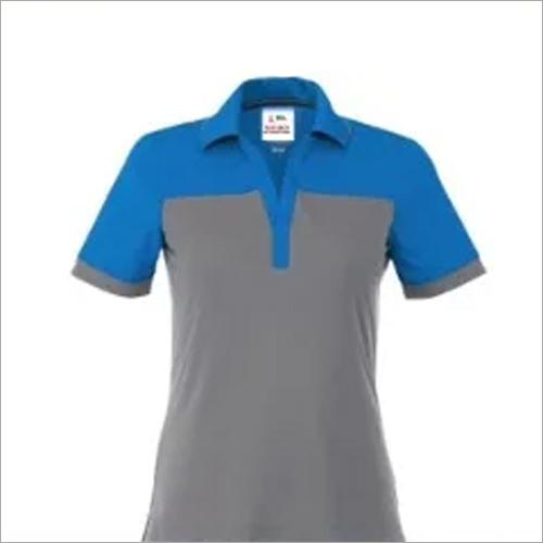 Girls Collar Neck College T Shirt
