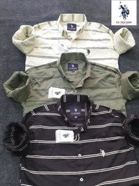 Mens Branded Check Shirts