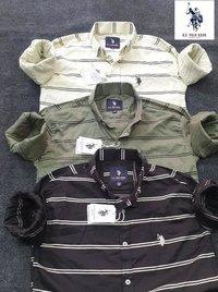 Mens Branded Check Shirts