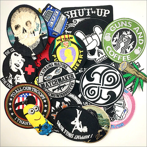 Embroidery Woven Patches